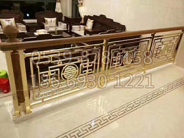 铜、铝艺楼梯扶手 SY-07