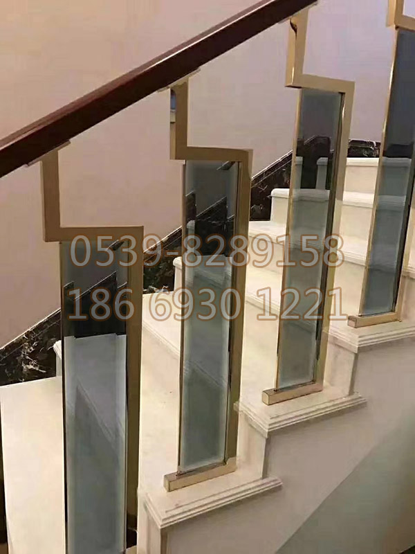 铜、铝艺楼梯扶手 SY-02