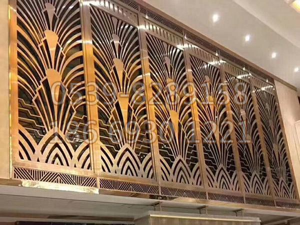 铜、铝艺楼梯扶手 SY-12