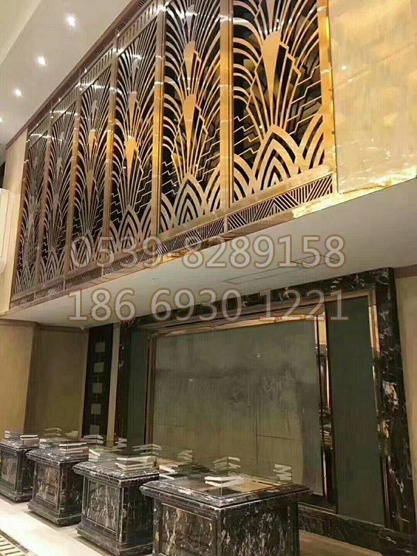 铜、铝艺楼梯扶手 SY-13