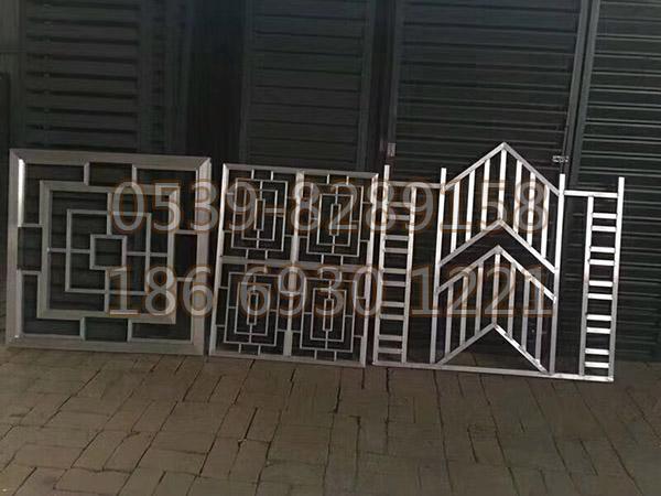 铜、铝艺楼梯扶手 SY-06