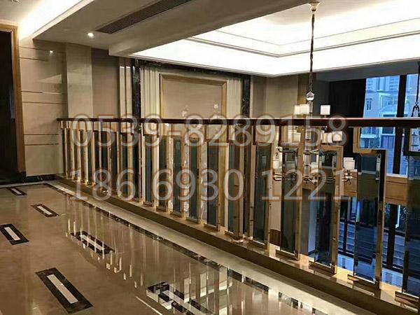 铜、铝艺楼梯扶手 SY-04
