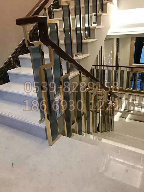 铜、铝艺楼梯扶手 SY-03