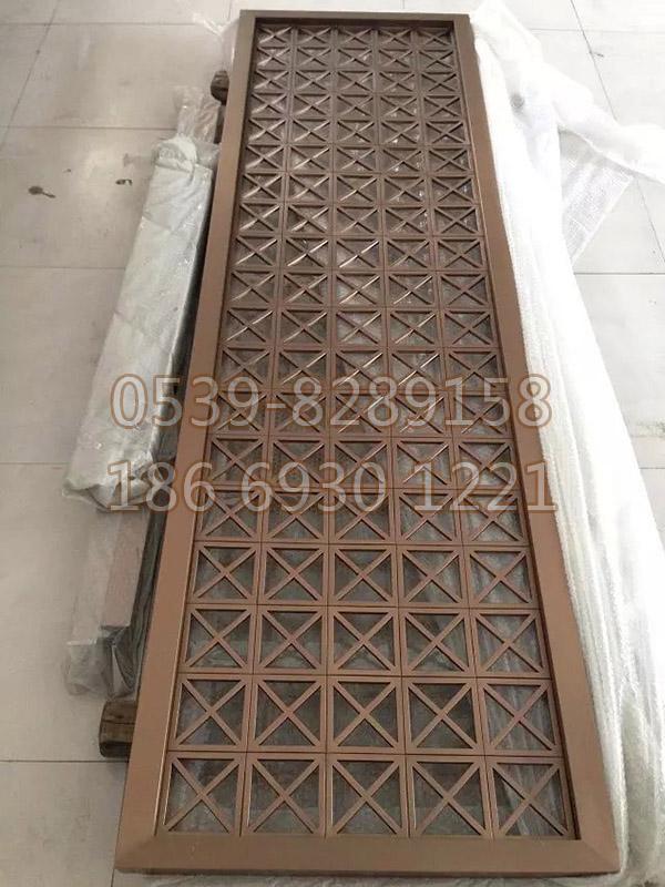 走廊不锈钢屏风隔断52
