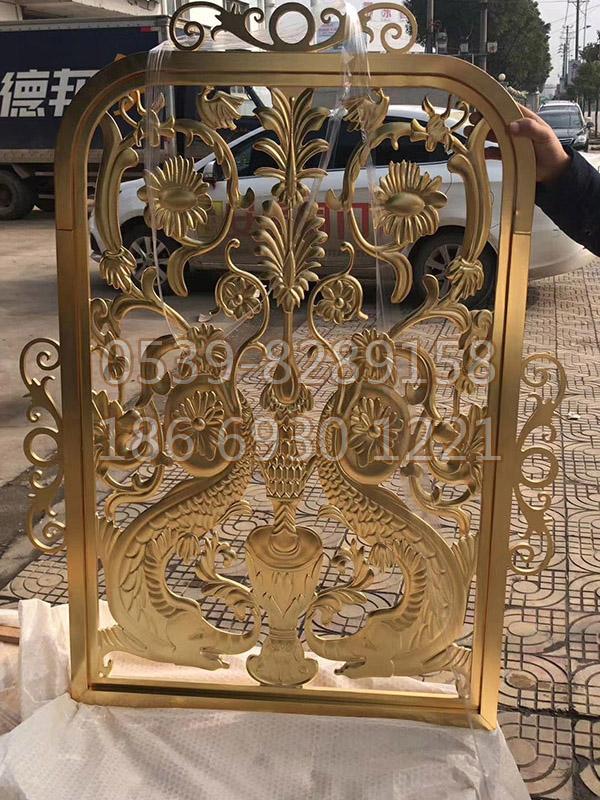 铜、铝艺楼梯扶手SY-09