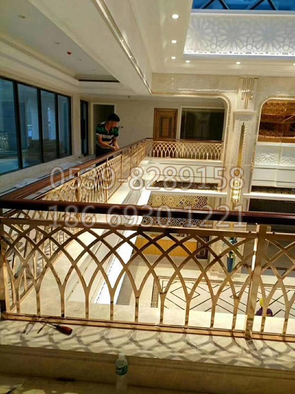 铜、铝艺楼梯扶手 SY-10